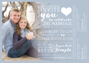 eliza_front_web Wedding Invitations