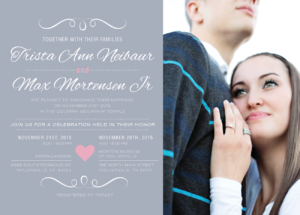 max_front_web Wedding Announcements