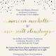 Marissa and Eric Front Wedding Invites