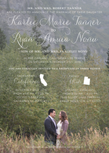 karlie_front_web Wedding Invites