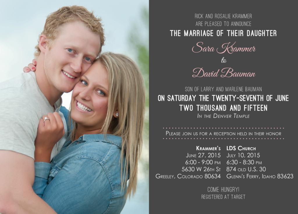 Sara-Krammer Wedding Invitations