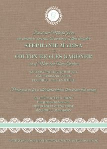 Stephanie-Jensen-Front Wedding Invitations
