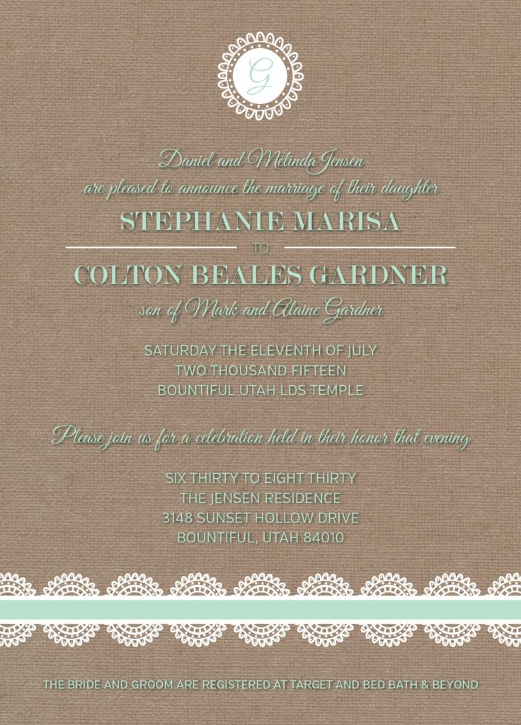 Stephanie-Jensen-Front Wedding Invitations
