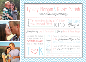 kelsie_front_web Wedding Invitations