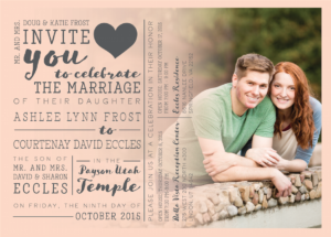 ashlee_front_web Wedding announcements