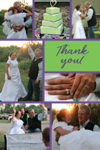 Marissa Cook THC Front Wedding Invites