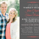 Jessa and Trevor Front Wedding Invitations