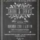 Sarah and Travis Front Wedding Invitations