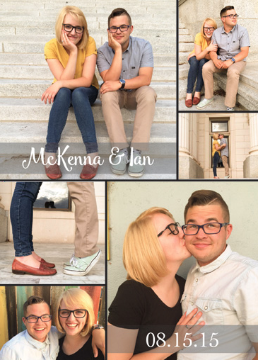McKenna and Ian Wedding Invites