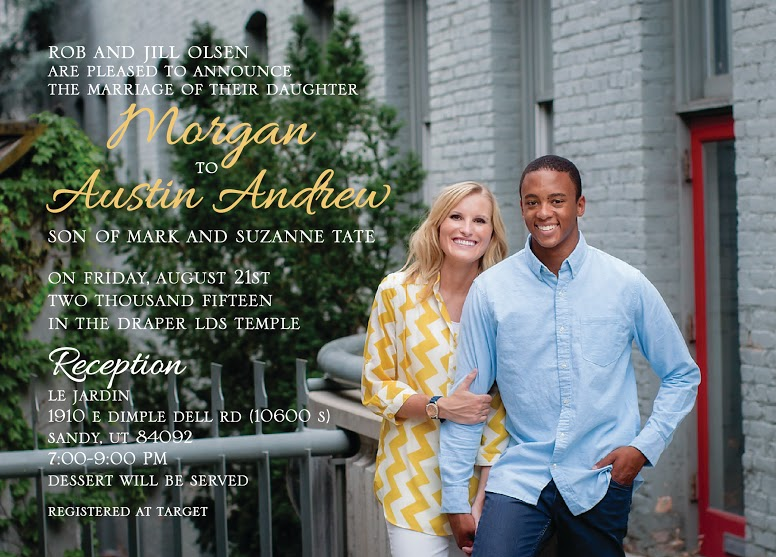 Margan-Austin Wedding Invitations