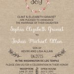 Sophie Graviet Front Wedding Invitations
