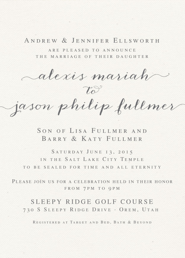 alexis_front Wedding Invitations