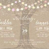 Berklee and Tanner- 5x7 front Wedding Invitations