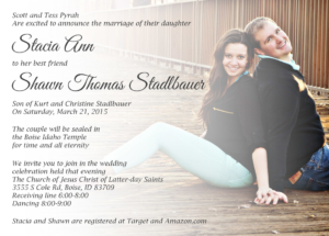 Stacia-FRONT-FINAL Wedding Invitations