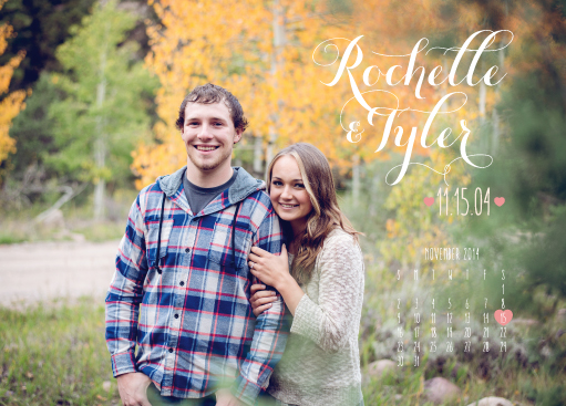 rochelle-tyler-announcement-front Wedding Invitations