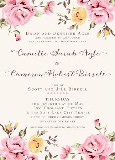 Jennifer Agle Back Wedding Announcements