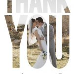 Nicole Price Thank You Front Wedding Invitations