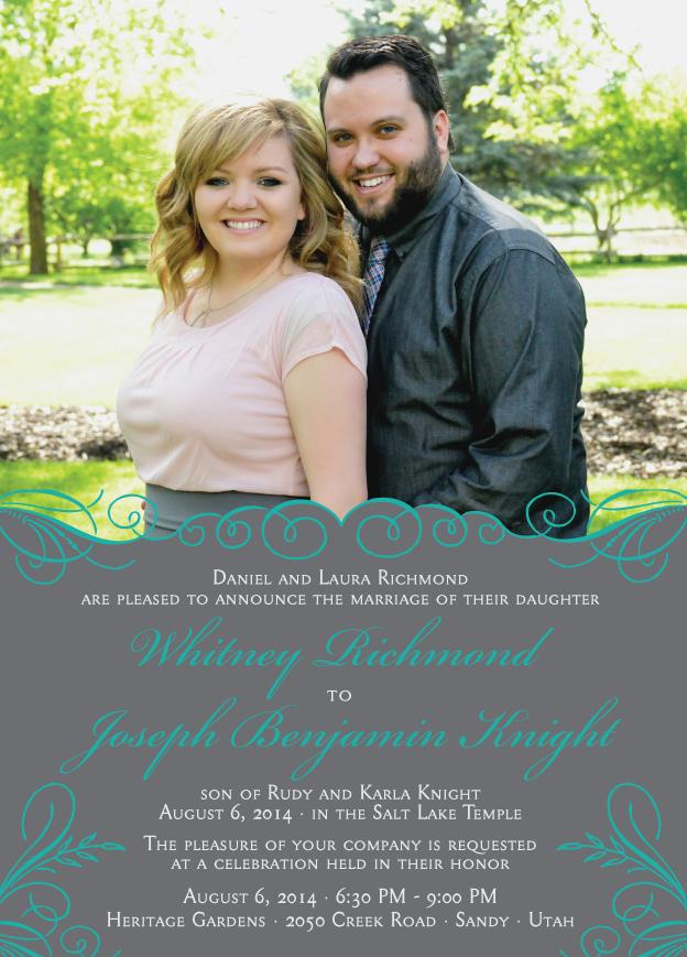 whitneyrichmond_front Wedding Invitations