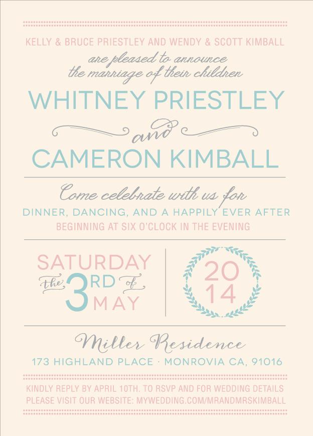 whitneypreistly_front Wedding Invitations