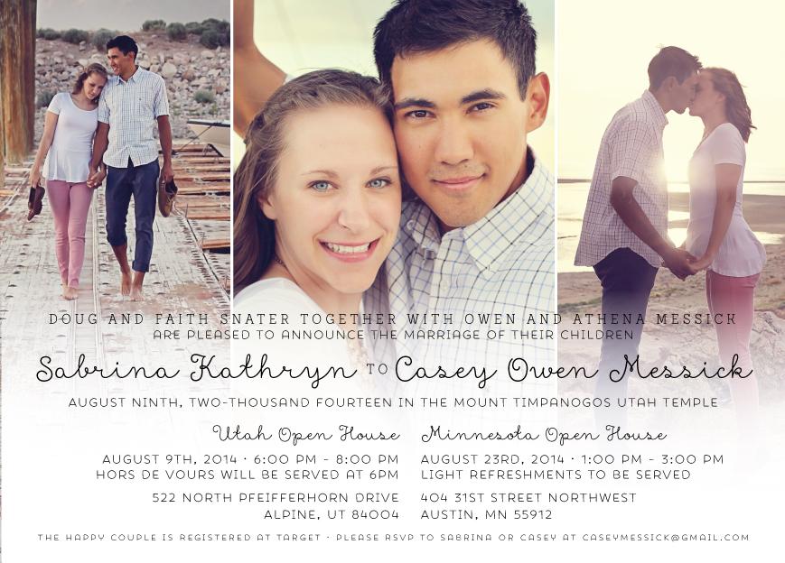 Sabrinasnater_front Wedding Invitations