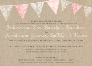 sabrinabarber_front Wedding Invitations