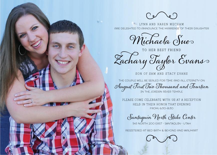 michaelamecham_front Wedding Invites