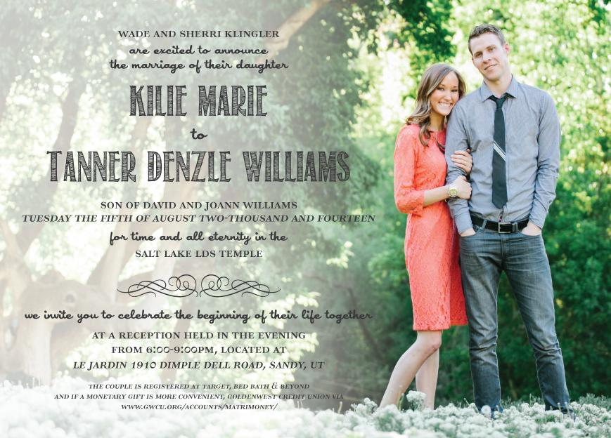 kilieklingler_front Wedding Invitations
