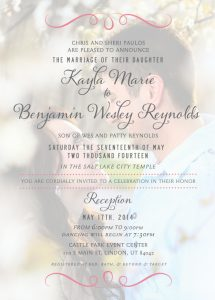 kaylapaulos_front Wedding Invitations