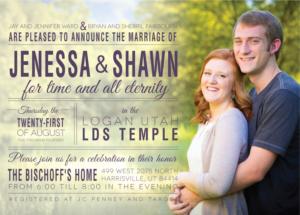 jenessaward_front Wedding Invitations