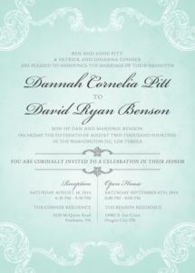 dannahpitt_front Wedding Invitations
