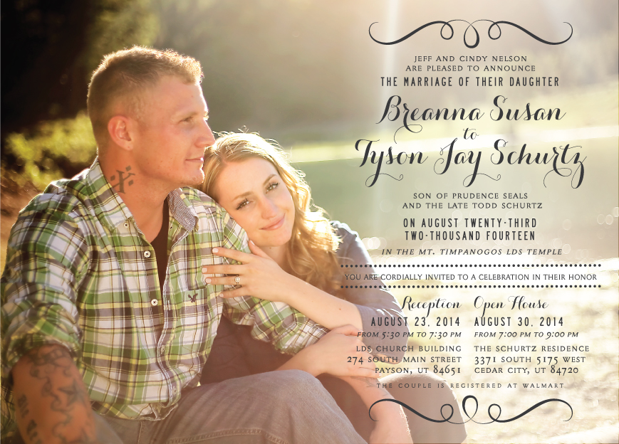 breanna_front Wedding Invitations