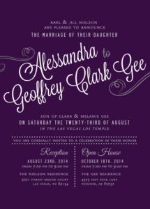 alessandra_front Wedding Invitations