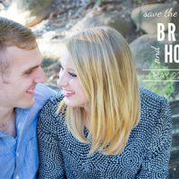 Holly Larson Front Wedding Invitations