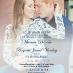 Marissa Anderson Back Wedding Invitations