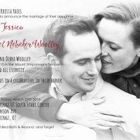 Krista Yates Front Wedding Invitations