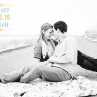 Danielle Woodbury Back wedding invites