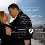 Brittany Altieri Front Wedding Invitations