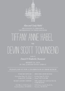 tiffanyhabel_front Wedding Invitations