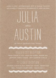 juliafrazier_front Wedding Invitations