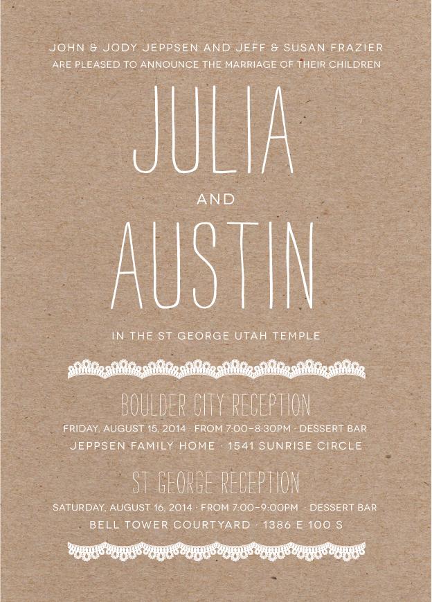 juliafrazier_front Wedding Invitations