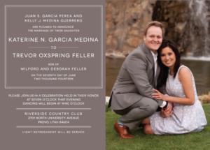 trevor_front Wedding Invitations