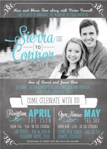 sierra_front Wedding Invitations