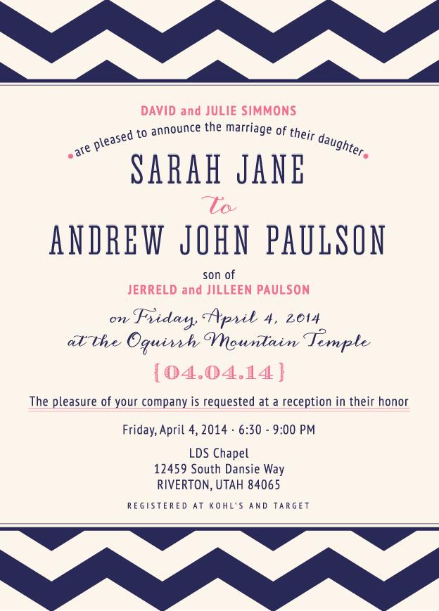 sarahjane_front Wedding Invitations
