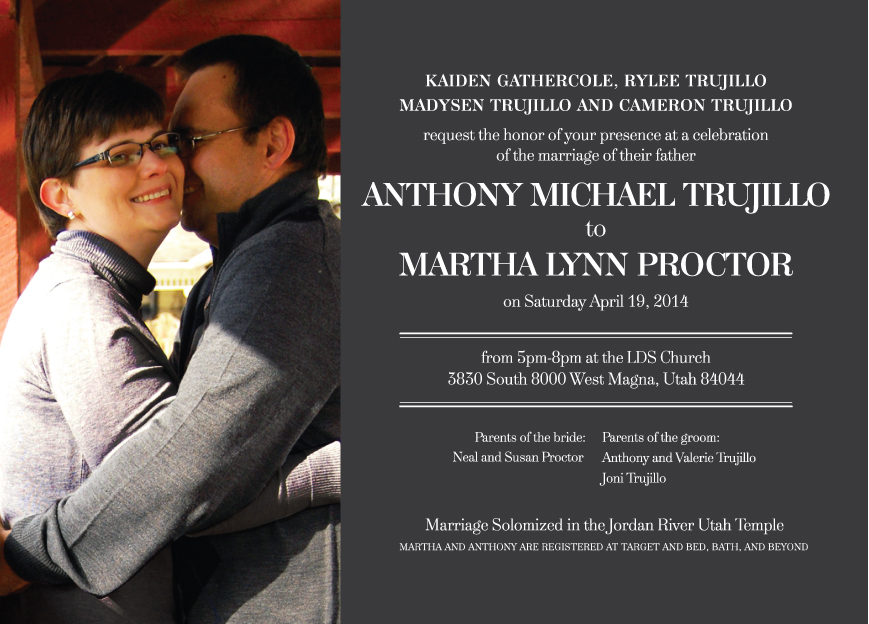 martha_front Wedding Invitations