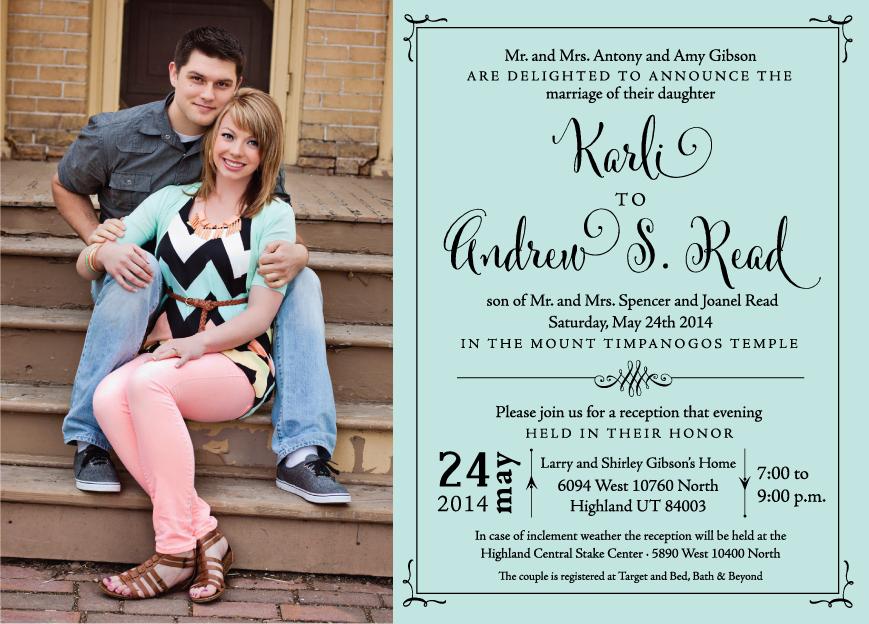 karlig_front Wedding Invitations
