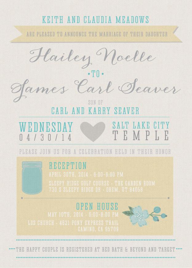 haileym_front Wedding Invitations
