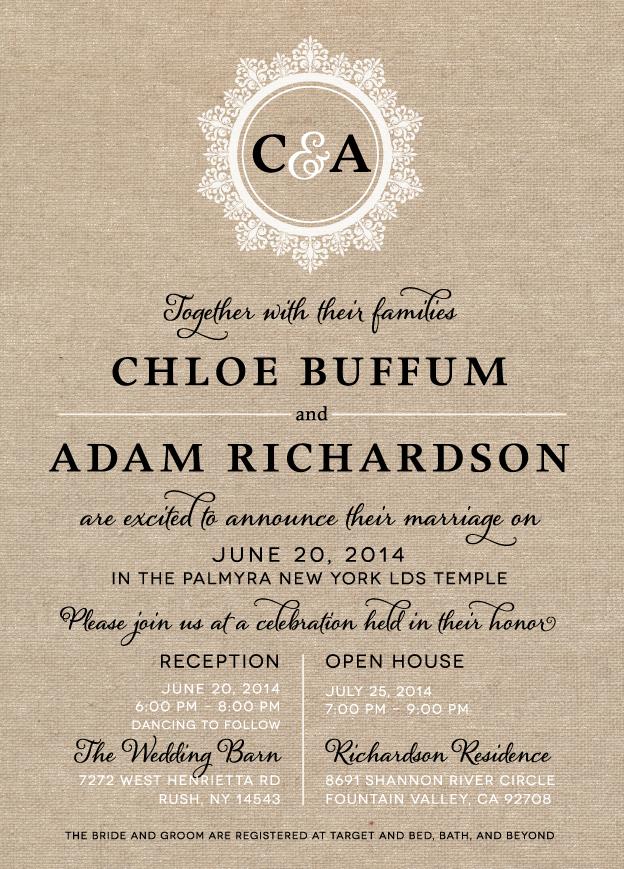 chloeb_front Wedding Invitations