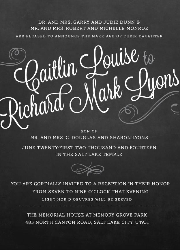 caitlind_front Wedding Announcements
