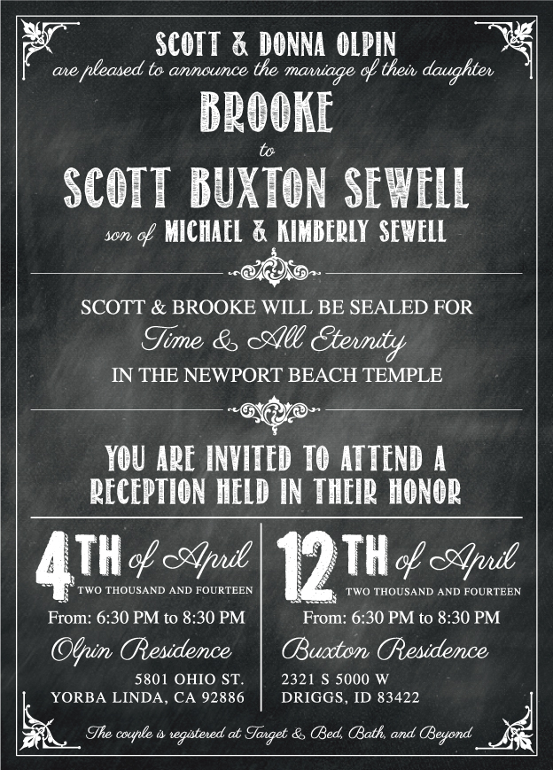 brookeo_front Wedding Invitations