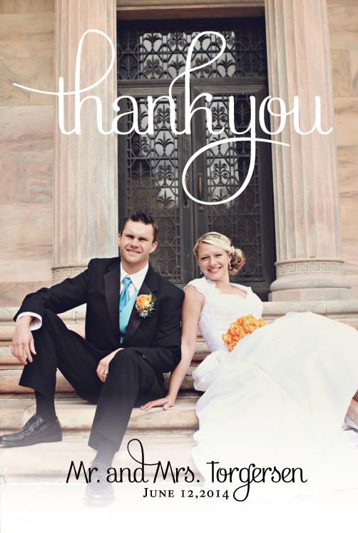 brinnab_thankyou_front Wedding Invitations